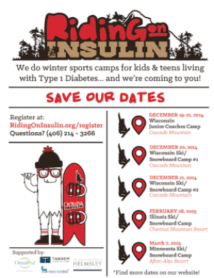 Riding on Insulin Midwest Camps