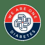 We Are One Diabetes Logo