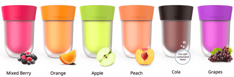All flavors of The Right Cup