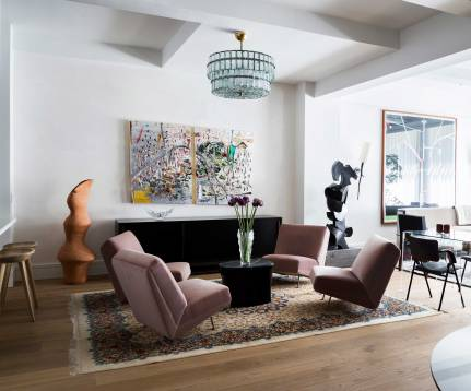 Chelsea Loft - New York - Sitting Area
