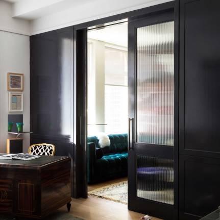 Chelsea Loft - New York - Doors to Salon