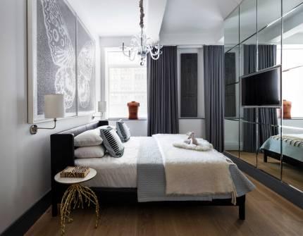 Chelsea Loft - New York - Master Bedroom
