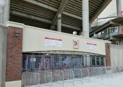 Football Stadium Gates