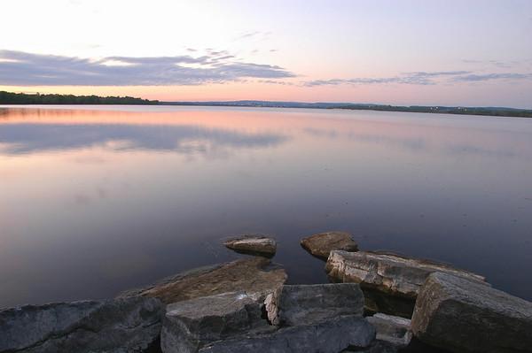 Dawn over Onondaga Lake, Syracuse, New York