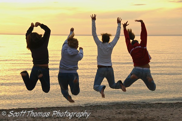Jumping for Joy for Scott Thomas for winning the Pioneer Woman Photography contest!