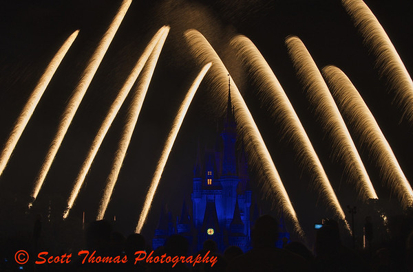 Wishes Fireworks Show at Walt Disney Worlds Magic Kingdom.