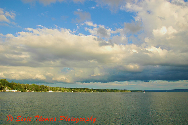 Skaneateles Lake, the cleanest of the Finger Lakes, has water so pure the city of Syracuse use it unfiltered.