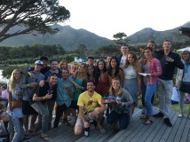 The volunteers from my time in Cape Town, South Africa.