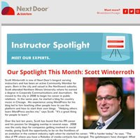 NextDoor Chicago Spotlight This Month: Scott Winterroth