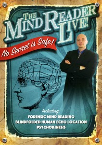 Corporate mind reader poster