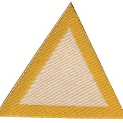 Distintivo di sestiglia bianchi