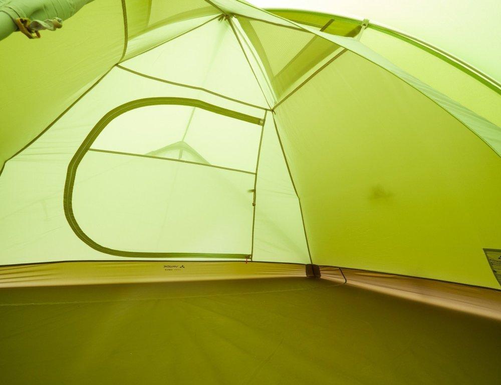 Interno tenda Vaude Campo 3