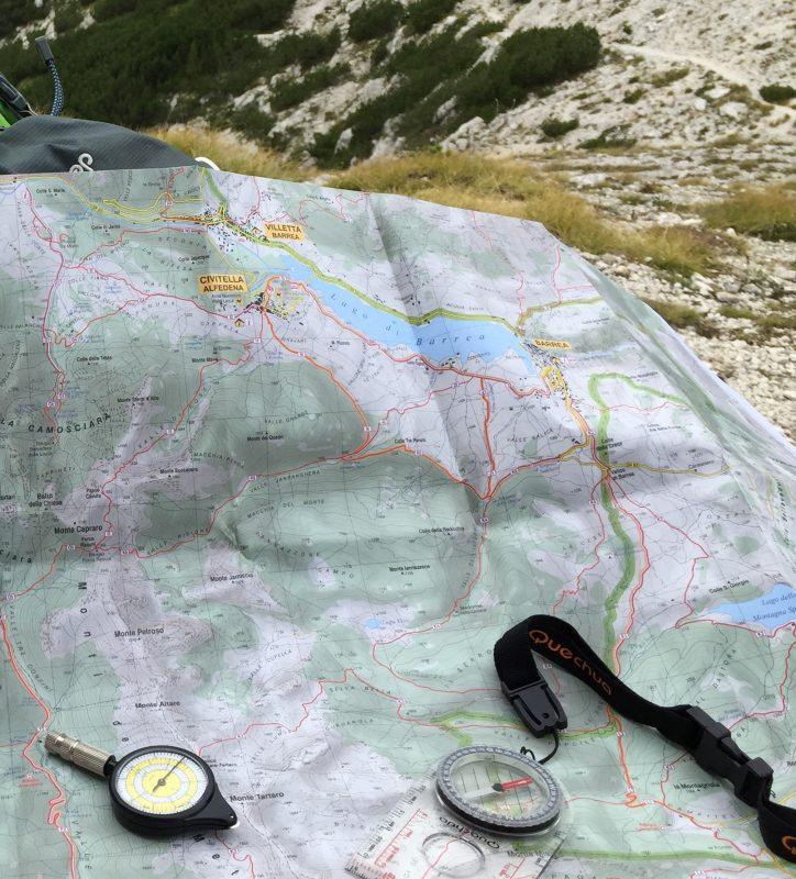 Come leggere una cartina dei sentieri
