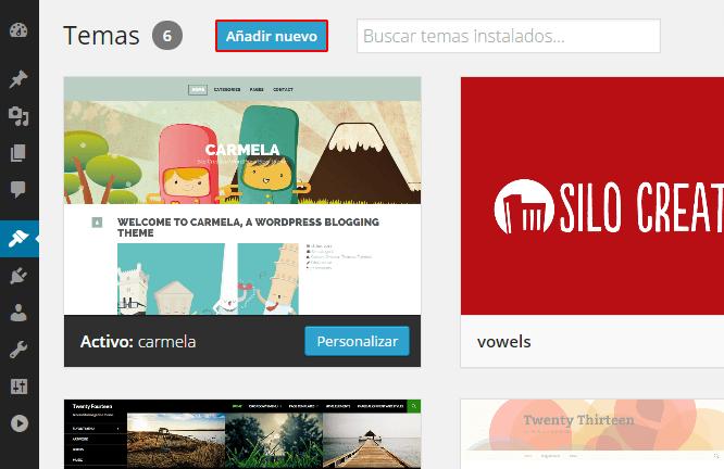 anadir-plantilla-nueva-wordpress