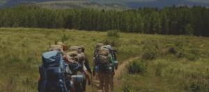 Scouts marchant
