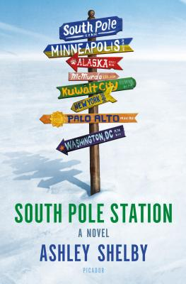 Ashley Shelby: South Pole Station. Presentation and Book Signing