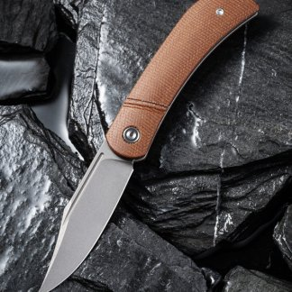 Civivi Appalachian Drifter Brown Micarta C2015A