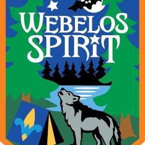 Webelos Spirt patch