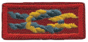 """6674757185ef Asian American Spirit of Scouting Service Award  This knot serves as a  Scouting """"thank you"""" to leaders who deliver the program to Asian American  youth."""