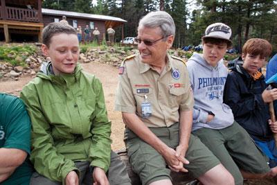 Wayne Brock Chief Scout Executive Scouting Magazine Philmont