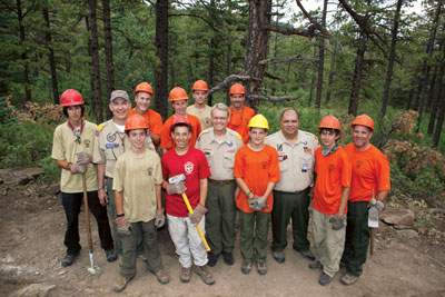 Wayne Brock Key 3 at Philmont