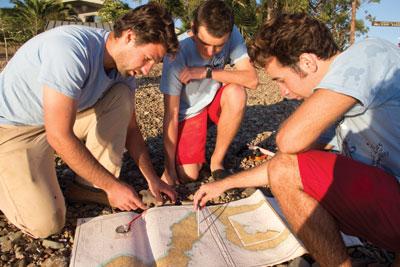 Kayaking Catalina Island Map Emerald Bay