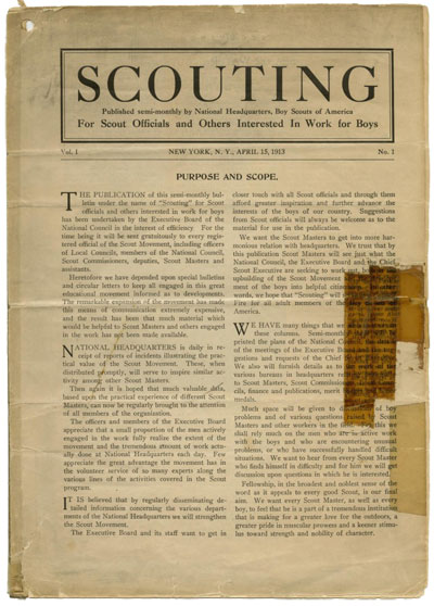 Scouting_FirstIssue1913
