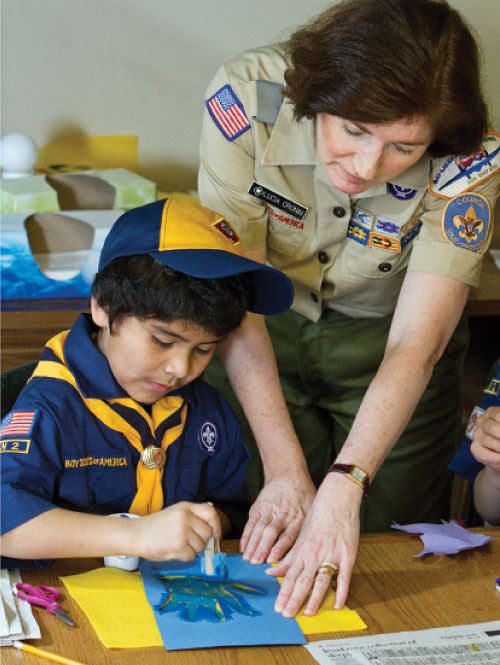 Boy Scout Image — New Cub Scout Program