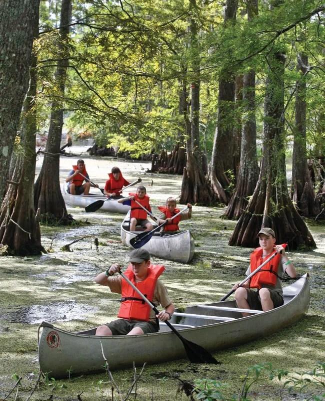 Mt. Bayou Lake Scout Camp