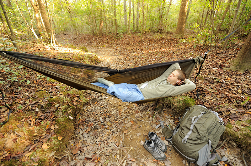 Medium image of hammock camping is taking scouting by storm