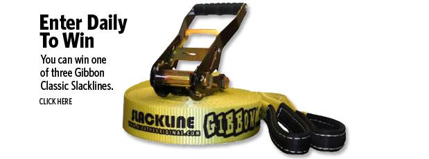 Enter to Win Slackline Giveaway