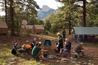 Wood Badge Philmont Camp