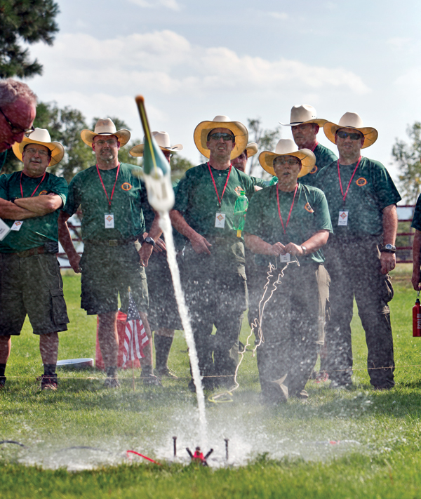 Wood Badge Rocket Launch