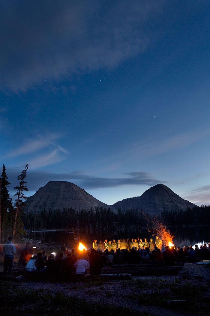 Campfire Camp Steiner