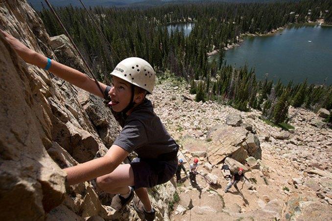 Climbing Wall Camp Steiner
