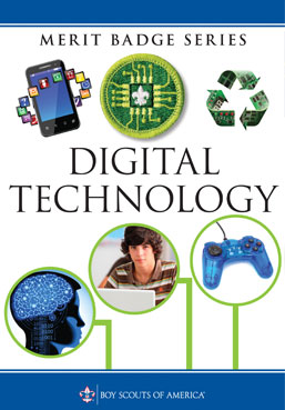 Digital Technology Merit Badge book