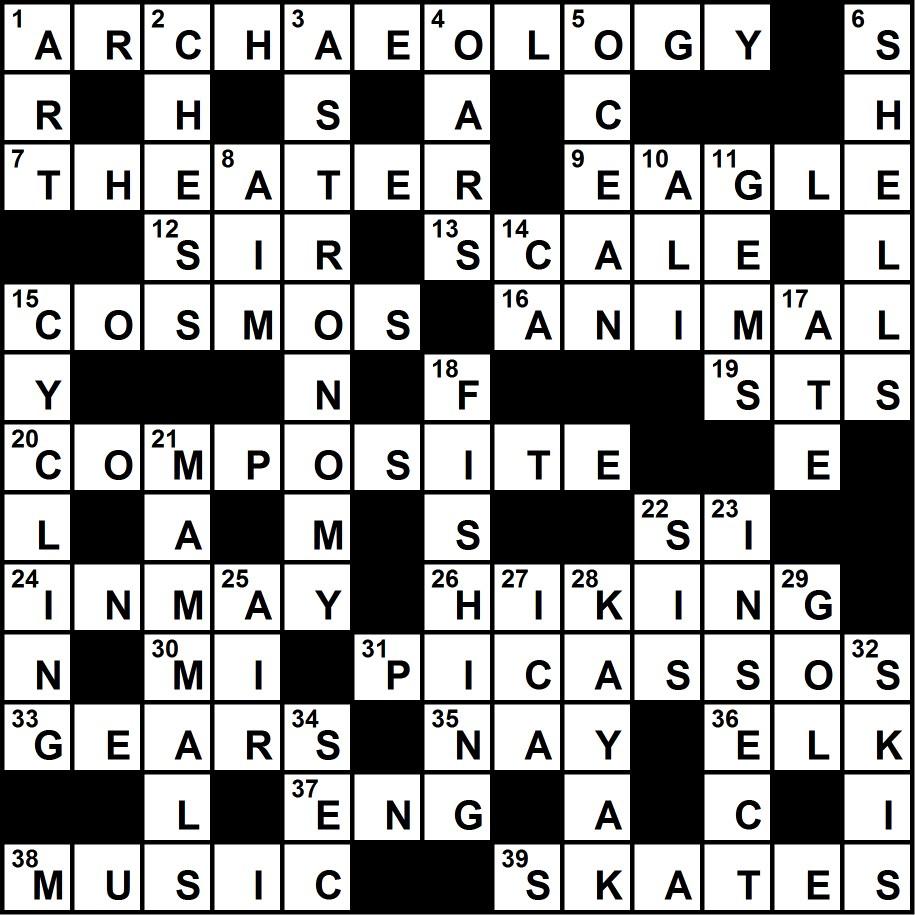crossword9-meritbadgessolution