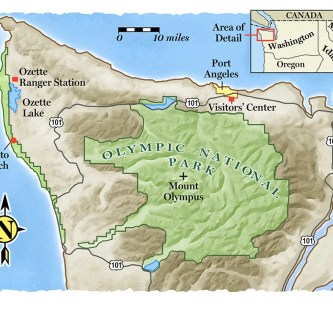 Olympic-National-Park-Map