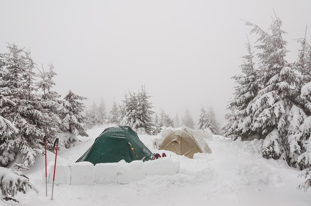 Snow-Tent