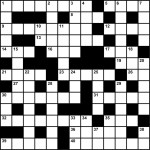 Challenge yourself with a Philmont Scout Ranch crossword puzzle
