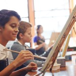 How to add color to the Art merit badge