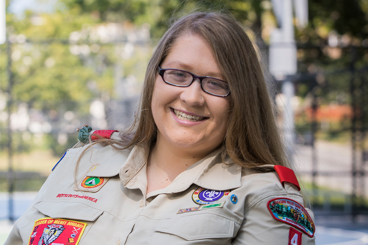 This volunteer is growing Scouting in the inner city