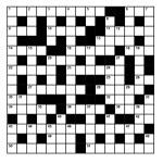 Challenge yourself with an Uniform Parts Crossword