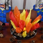 Scout Crafts: Campfire Centerpiece