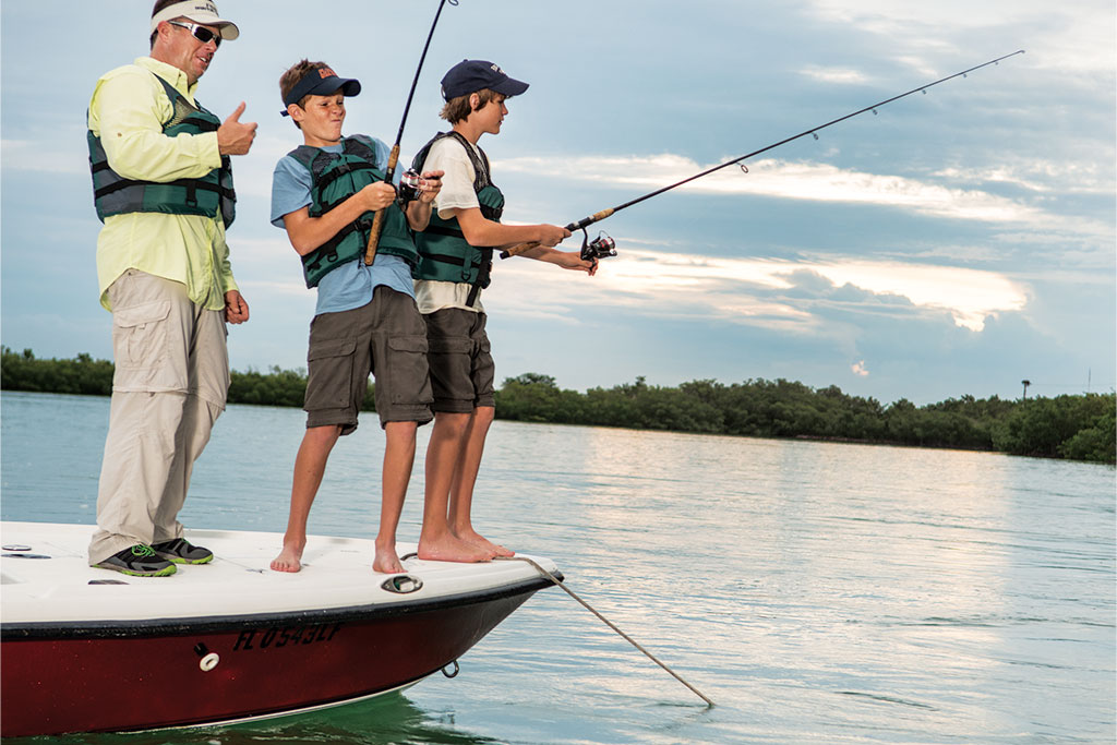 Angling for an easy outdoors activity?