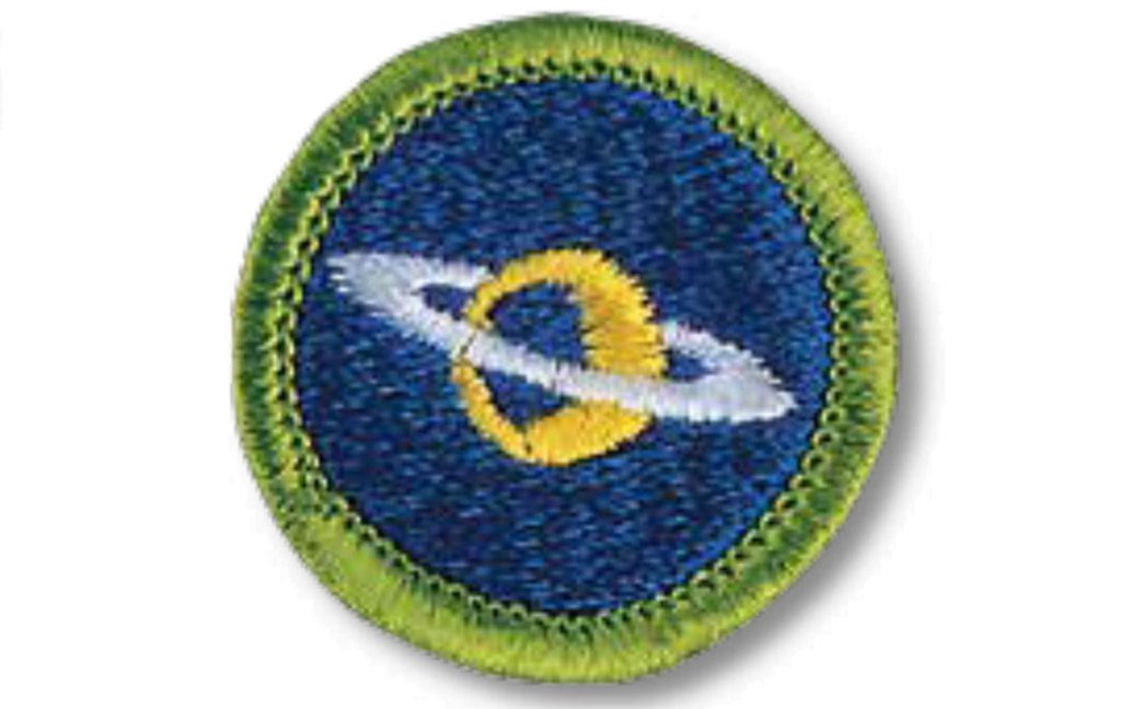 The sky's the limit with the Astronomy merit badge