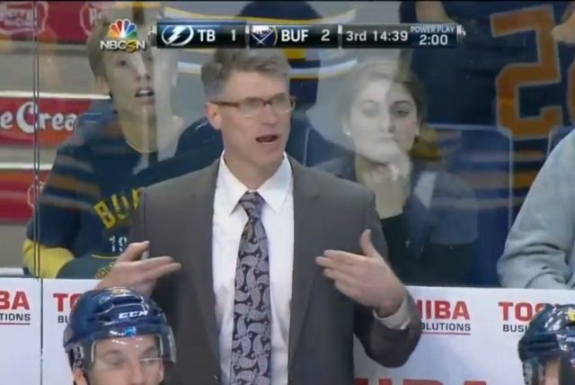 Negated Goal Costs Sabres a Victory