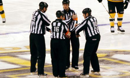 Tonight's Officials – 1/3/14