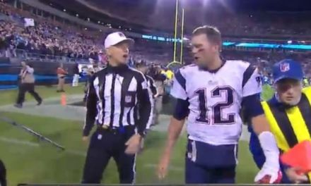 Non-Call Ends Patriots' Rally, Inspires Brady F-Bomb