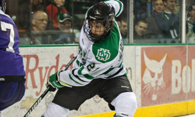 NCAA: UND's O'Donnell Gets Penalty for Being Slashed